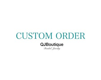 Custom order reserved for a client