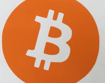 Bitcoin Vinyl Decal