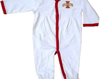 Iowa State Cyclones Baby Pleated Playsuit