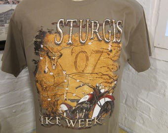 Size L (44) ** Sturgis Bike Week Shirt (Deadstock Unworn)