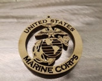 "3"" United States Marine Corp Ornament"