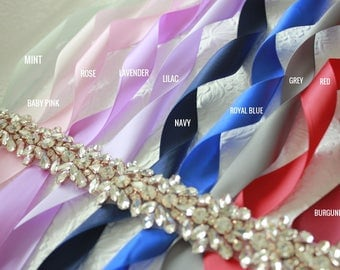 Flower Girl Dress Sash, Lace Sash, Flower Girl Sash, Flower Sash, Girls Dress Sash, Custom Wedding Sash, Skirt Sash, Floral Sash, Ivory Sash