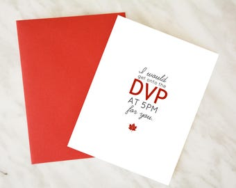 Toronto-ism / I'd Get Onto the DVP at 5pm for You / Cute Toronto Couples Card