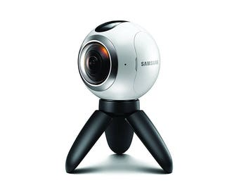 Samsung Gear 360 Real 360 High Resolution VR Camera (US Version with Warranty)