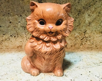 Vintage Cookie Jar, 1963 Twin Winton Cat California Pottery Cookie Jar