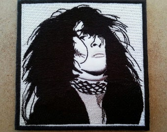 Johnny Thunders Embroidered Patch New York Dolls Ramones