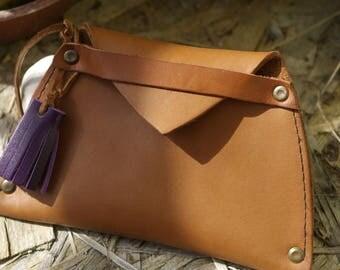 original leather purse