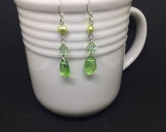 The Grass Really IS Greener - Earrings