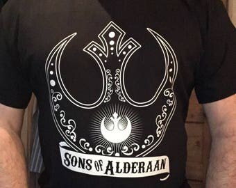 "Sons Of Alderaan "" Tattoo"" TShirt"