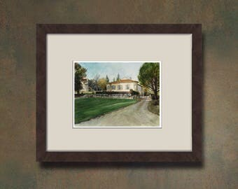 Watercolor of your property - Sylvabelle Castle