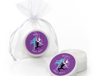 Must Dance to the Beat - Dance - Lip Balm Favors - Dance Party and Dance Themed Birthday Party Supplies - Dance Themed Party Favors - 12 Ct.