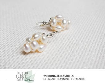 earrings for wedding | bridal earrings vintage | bridal silver earrings | wedding earrings | pearl earrings | vintage wedding
