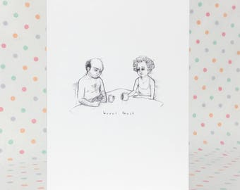 Happy Anniversary // Greeting Card