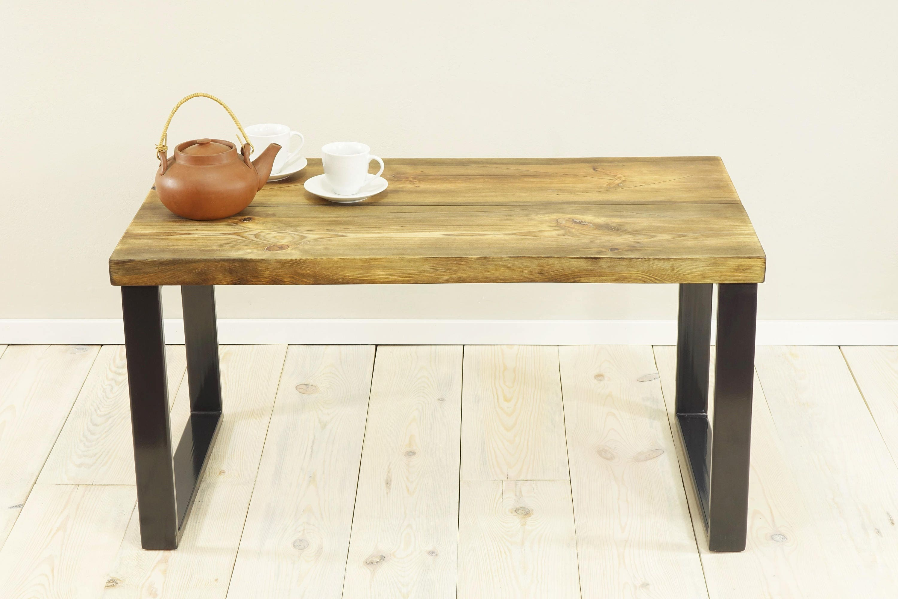 live edge slab table dining bench planks coffee table sofa table