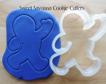 Gingerbread Man Cookie Cutters - Gingerbread Woman Cookie Cutter