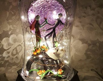 The Nightmare Before Christmas Lamp/Nightlight