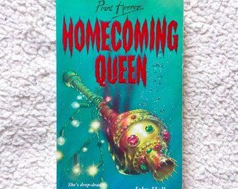Vintage 90s Point Horror Homecoming Queen by John Hall Paperback Book