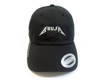 Bruja Dad Hat - embroidery baseball cap, embroidered hat, embroidery, witch hat, bruja, embroidered dad hat