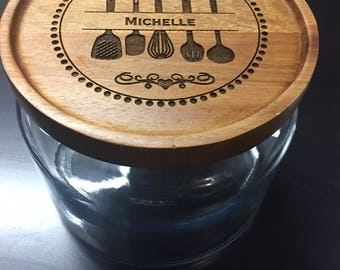 Personalized Kitchen Jars - Perfect Custom Kitchen Gift
