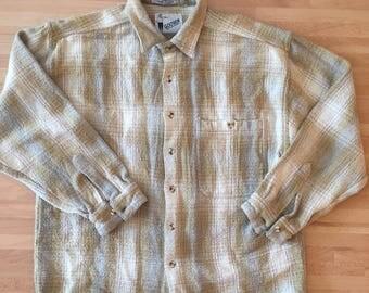 Vintage HW flannel // mens M