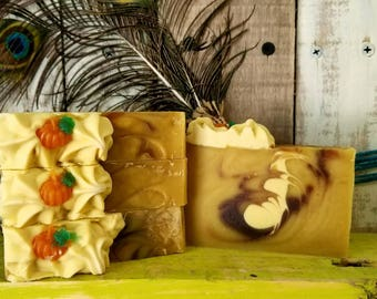 Pumpkin Spice lye soap