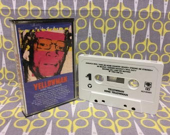 King Yellowman by Yellowman Cassette Tape reggae dancehall ska dub