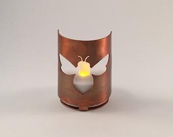 Big bee tea light holder