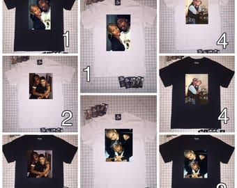 Tupac and Jada T-shirts