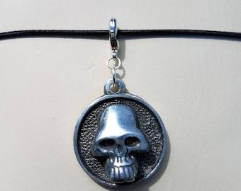 Circular Skull TN Charm