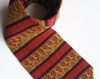 Vintage Marja Kurki silk tie