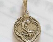 Medal - Saint Mary Magdalene Sterling Silver Medal - 20mm