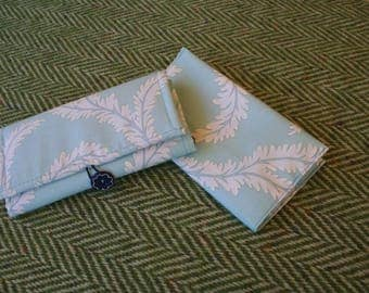 wallet and checkbook cover fabric