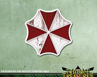 "Resident Evil ""Umbrella Corporation"" Sticker / Decal (3.3""/8.5cm)"