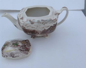 Johnson Brothers Olde English Countryside teapot