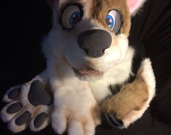 Spotted Dog partial fursuit