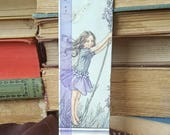 Flower Fairies - Lavender - Book Page and Ribbon Bookmark