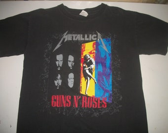 GUNS N ROSES / METALLICA tour shirt 1992
