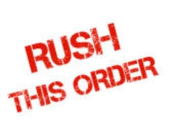 Rush order | Ship within 24-48 hours