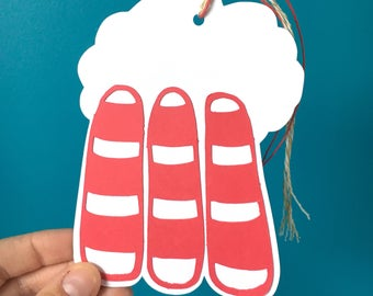 Tufts Cove Tags, 5 pack