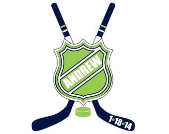 Hockey Bar Mitzvah Logo
