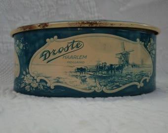 Vintage Droste Candy Tin