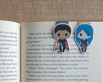 Magnetic Bookmarks • Modern Romeo & Juliet