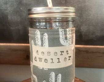Mason Jar & Coozie Set