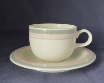 Arabia of Finland, Päivi coffee cup and saucer.