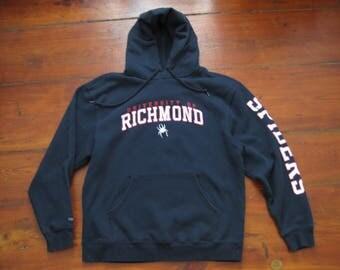 University of Richmond Spiders Hoodie Sweatshirt Mens Medium