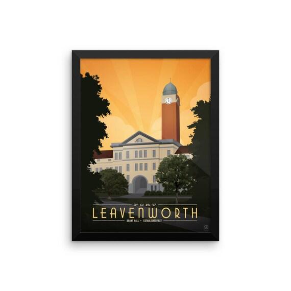 Fort Leavenworth Framed Print