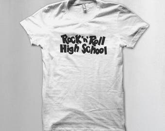 NEW! Rock n roll High school T shirt