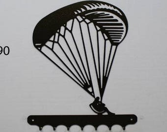 Hangs 26 cm pattern metal keys: paragliding