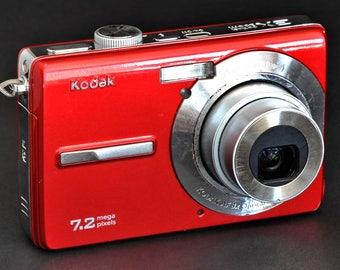 Kodak M763 Digital Camera 7.2MP w 34-105mm Equivilent 3X Optical Zoom Lens WoRKS WeLL !
