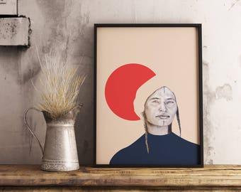 Printable Poster, Digital Print Geometric Art, Digital Download, Geometric Prints Wall, Art Prints Modern Prints , home decor,printable Art